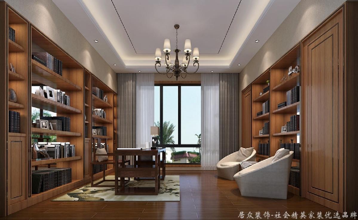 简约 别墅 书房图片来自gz居众装饰在简约型别墅的分享