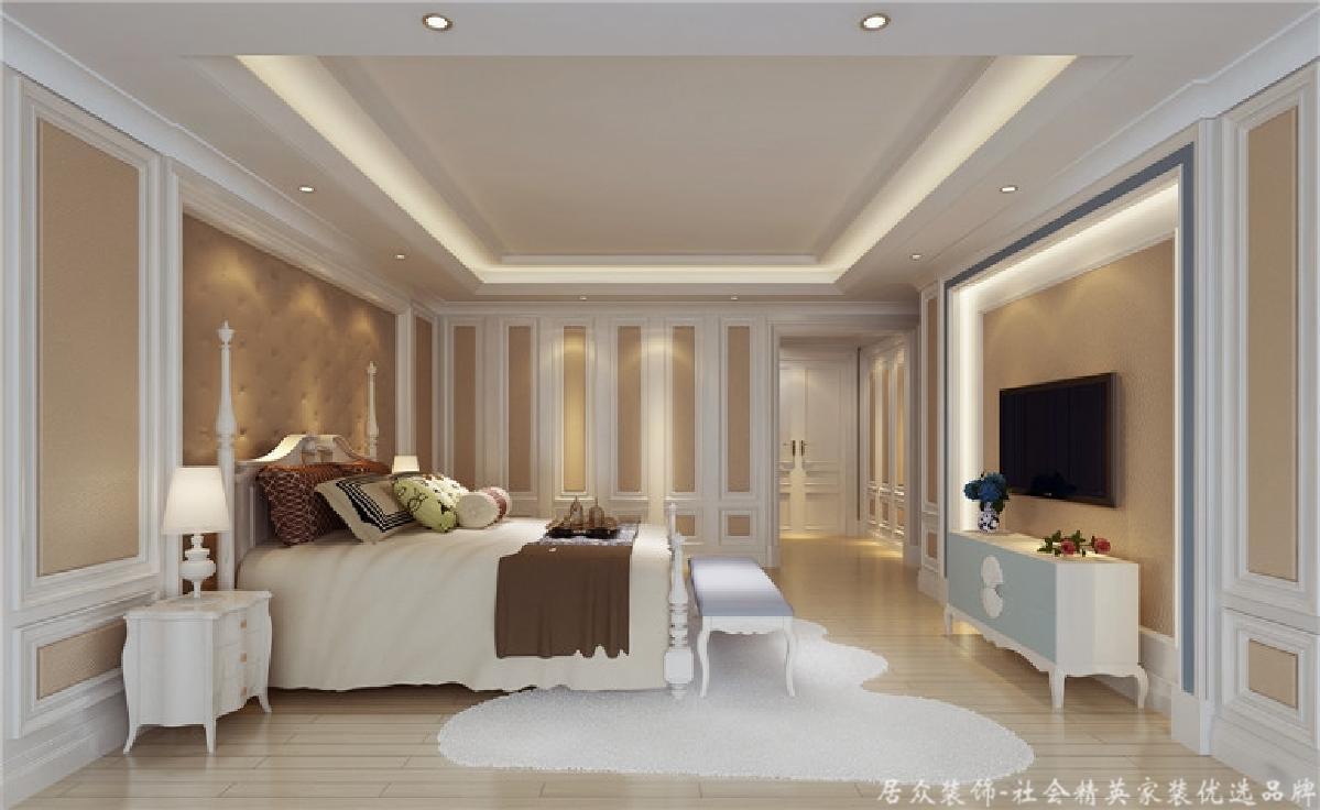 简约 现代 四居 卧室图片来自gz居众装饰在后现代、四居室、简约风格的分享
