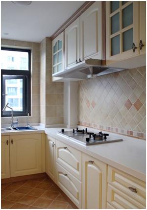 混搭 简约 美式 一居 白领 旧房改造 80后 90 小资 厨房图片来自轻舟装饰家居顾问在青塔小区芳园设计案例的分享
