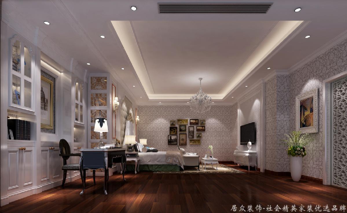 欧式 别墅 BOSS 卧室图片来自重庆居众装饰在金科太阳海岸-欧式风格-626㎡的分享