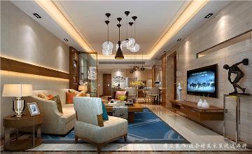 锦河湾-现代简约-88平米