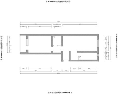 混搭 简约 美式 一居 白领 旧房改造 80后 90 小资 户型图图片来自轻舟装饰家居顾问在青塔小区芳园设计案例的分享