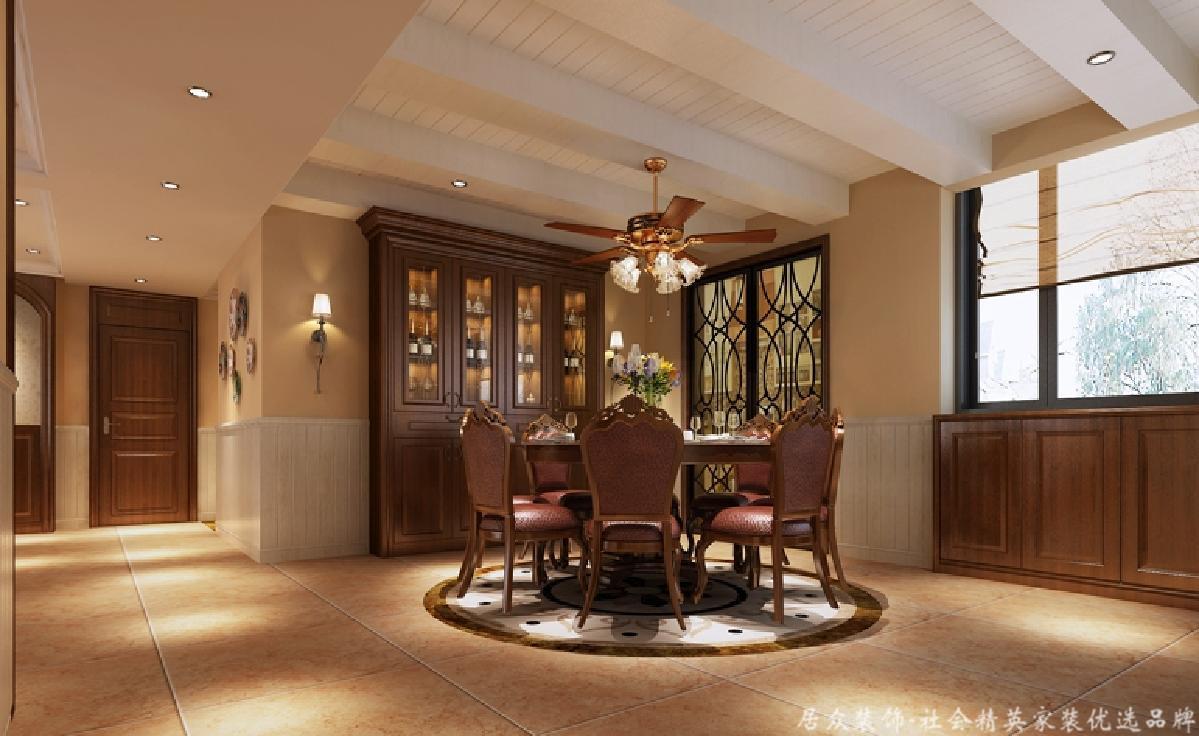 美式 四居 旧房改造 餐厅图片来自gqx9211300在清新乡间气息扑面而来的分享