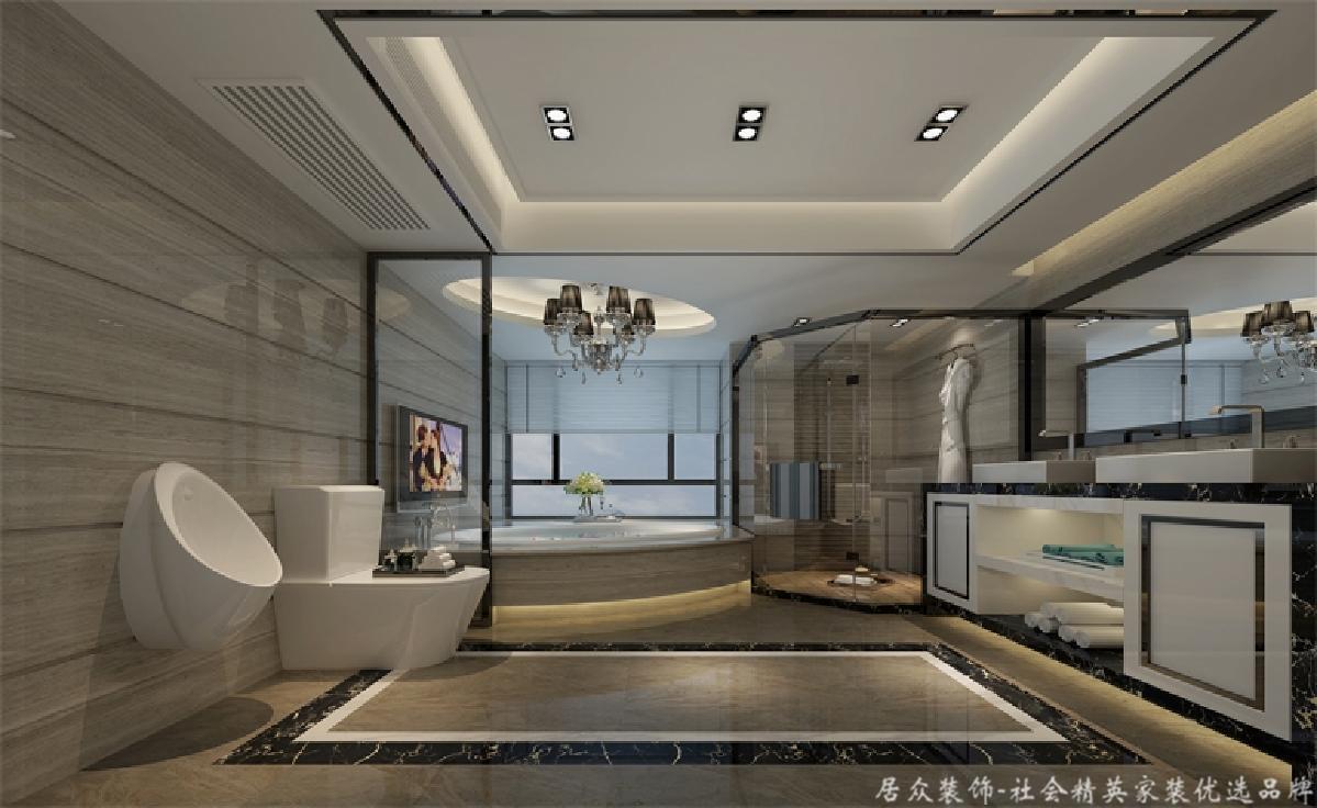 四居 旧房改造 现代 卫生间图片来自gqx9211300在宽敞、气势磅礴-现代风格四居的分享