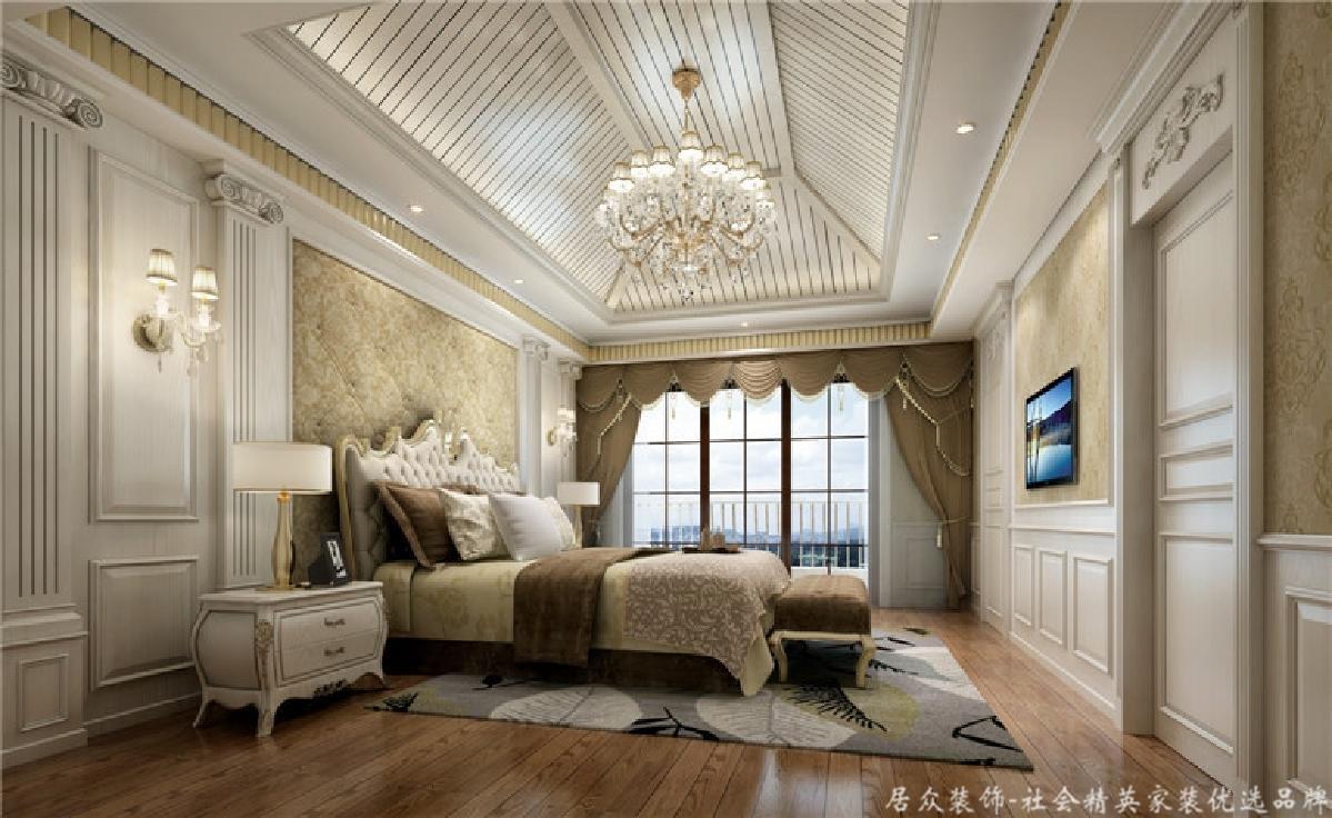 欧式 别墅 旧房改造 卧室图片来自gqx9211300在风情万种-朦胧美-欧式别墅的分享