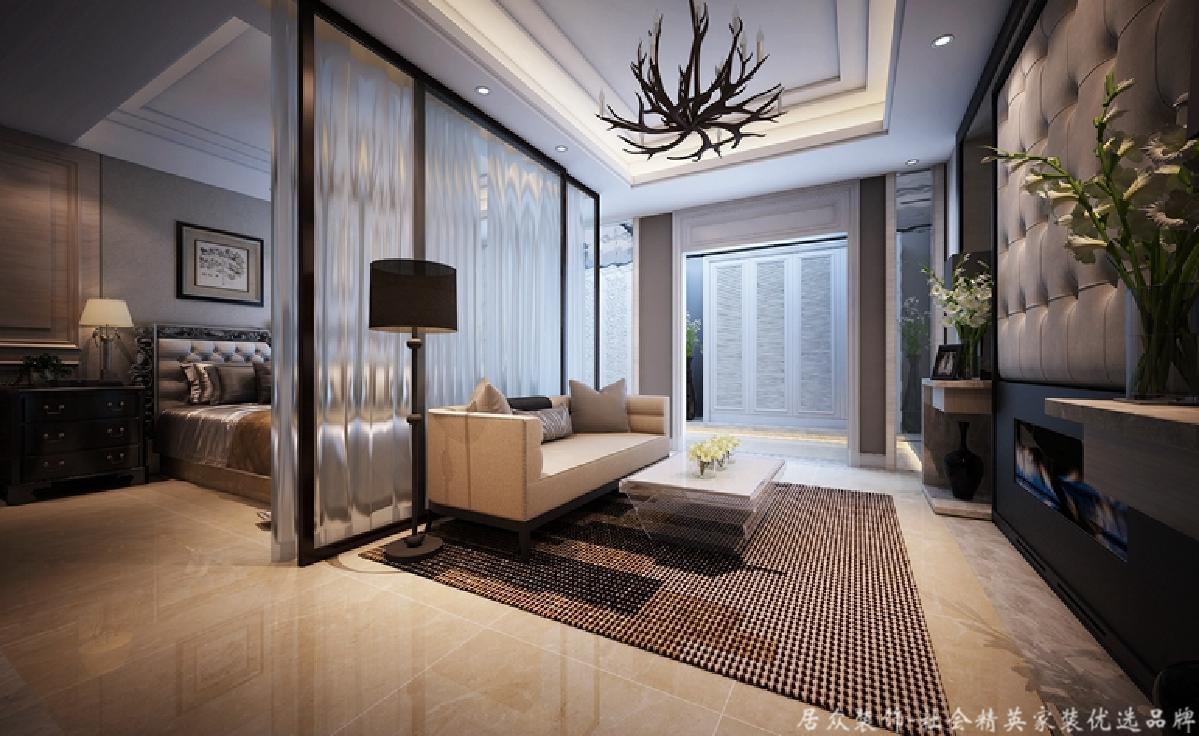 复式 新古典 毛坯 卧室图片来自gqx9211300在高端尊贵-300平新古典风格复式楼的分享