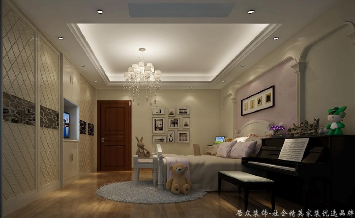 美式 四居 旧房改造 卧室图片来自gqx9211300在清新乡间气息扑面而来的分享