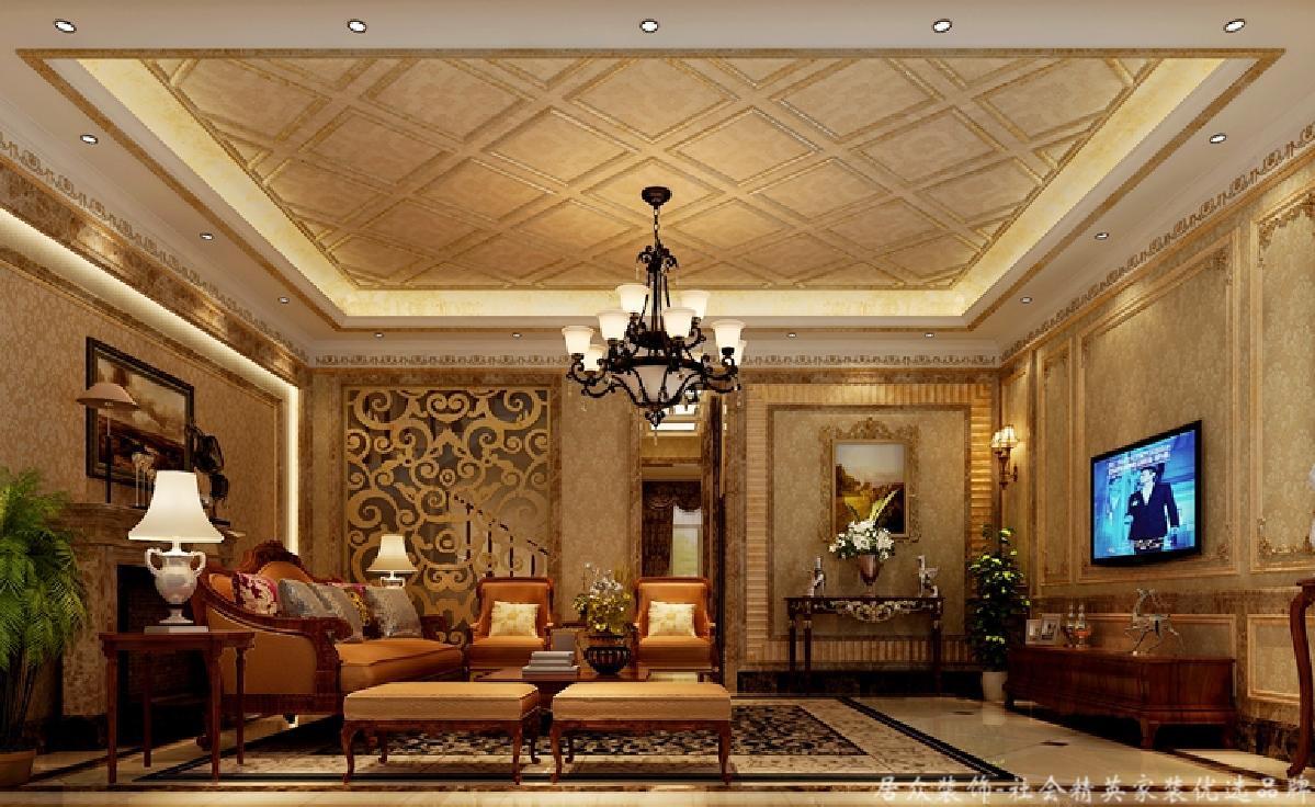 欧式 居众 客厅图片来自重庆居众装饰在金科小城故事-欧式风格-400㎡的分享