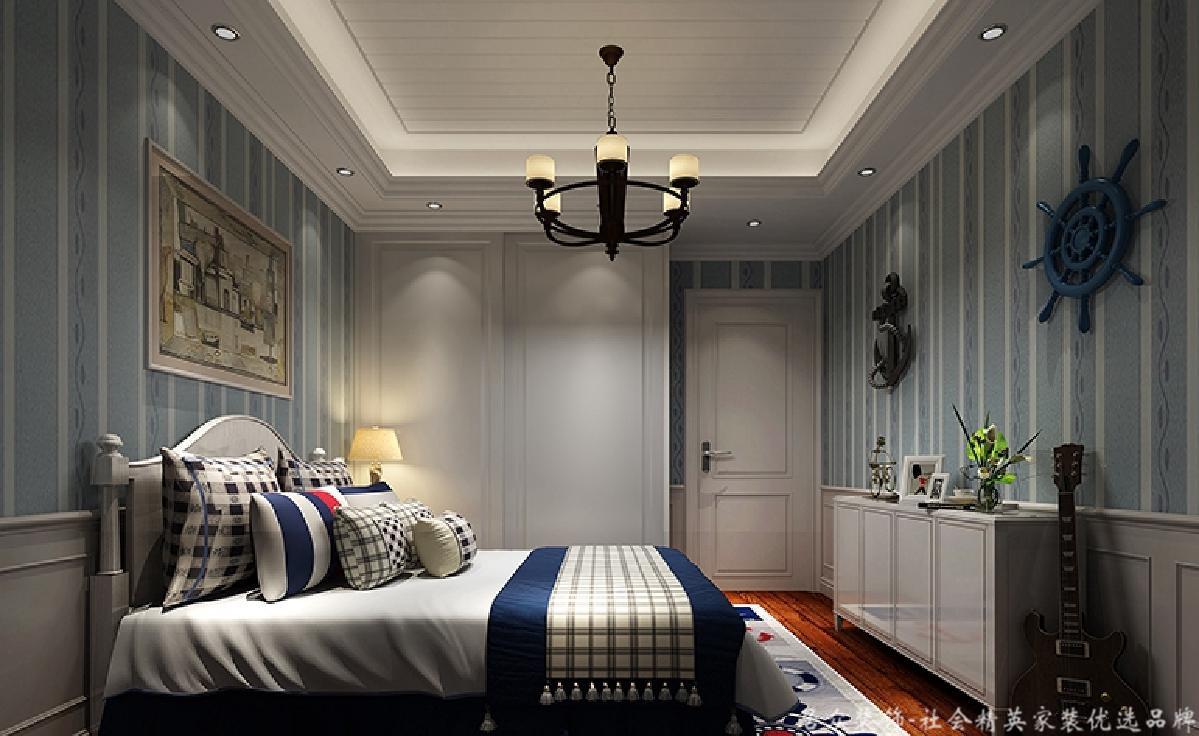 欧式 三居 毛坯 卧室图片来自gqx9211300在高雅、贵族象征-175平欧式三居的分享