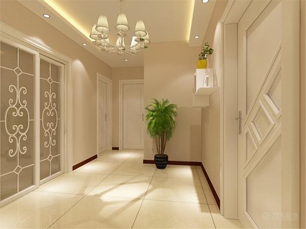 最后是客厅,因客厅的面积比较大,所以把客厅划分为两个区域,分为了会客厅和吧台区。客厅的窗户也是比较多的,