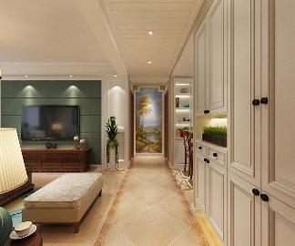 石家庄玫瑰湾两室现代风格装修