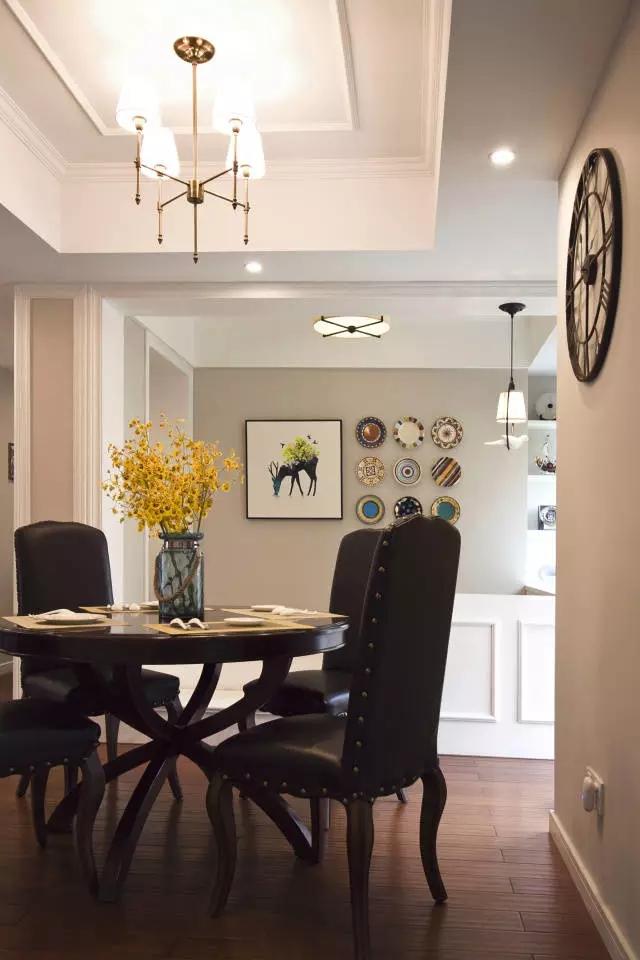 餐厅图片来自成都百纳家居装饰公司在成都百纳装饰 110㎡美式风格三居的分享