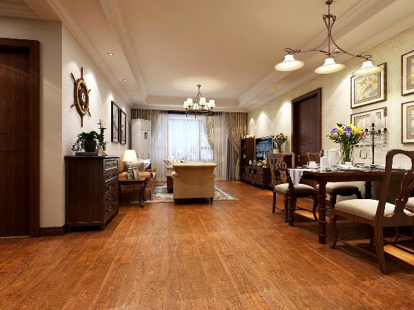 不仅功能空间明确了,留出了入户鞋柜的空间而且入户和客厅都方正了起来,对后期的顶面和地面整体布局更统一干净。