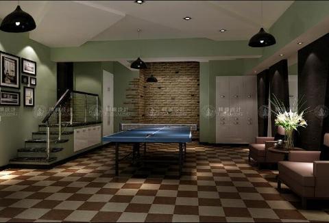 恒海国际别墅装修现代风格设计