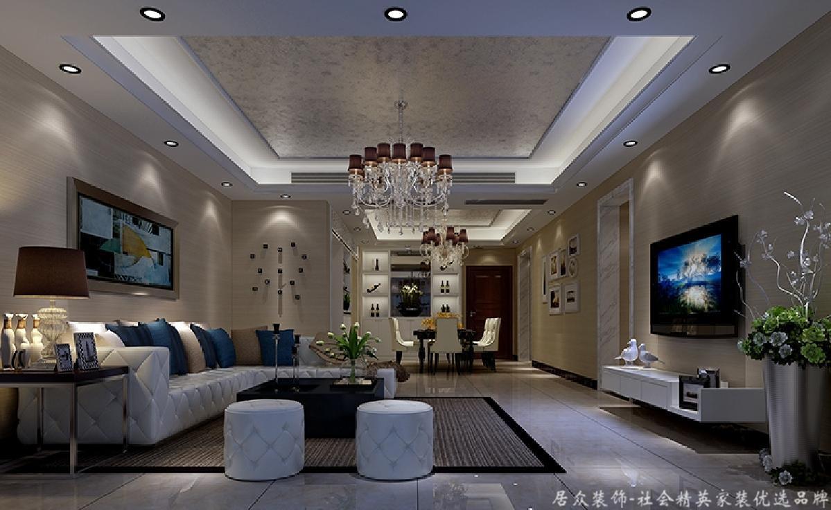 现代 居众 客厅图片来自重庆居众装饰在紫云台-现代风格-180㎡的分享