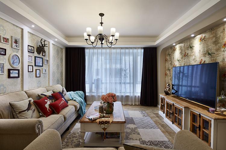 客厅图片来自武汉苹果装饰在南国中心的分享