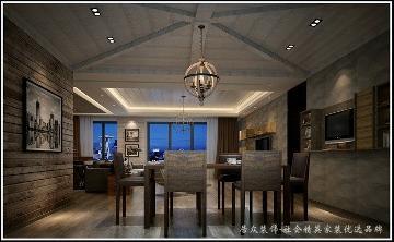 居众装饰-滨河时代-loft-198平