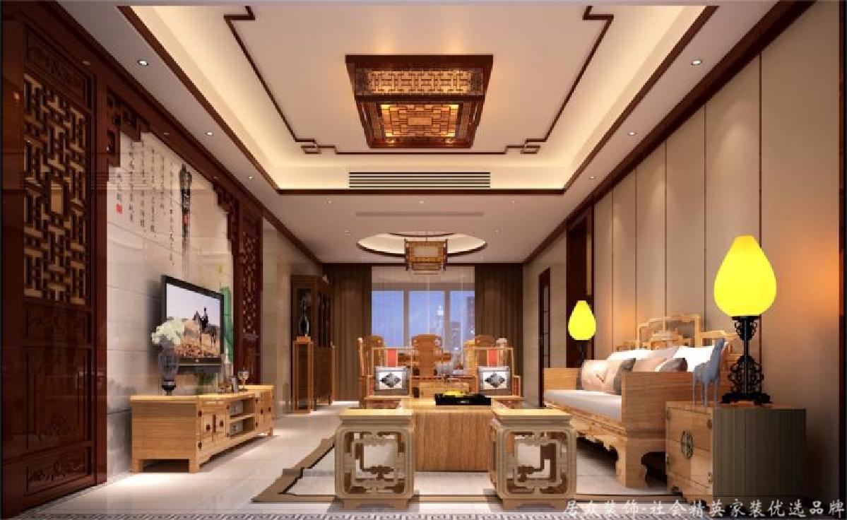 毛坯 欧式中式 四居 客厅图片来自gqx9211300在现实中的梦想空间-180平四居的分享