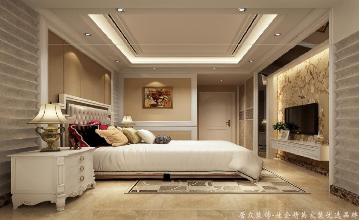 """三居 欧式 卧室图片来自gz居众装饰在亲近""""自然""""的分享"""