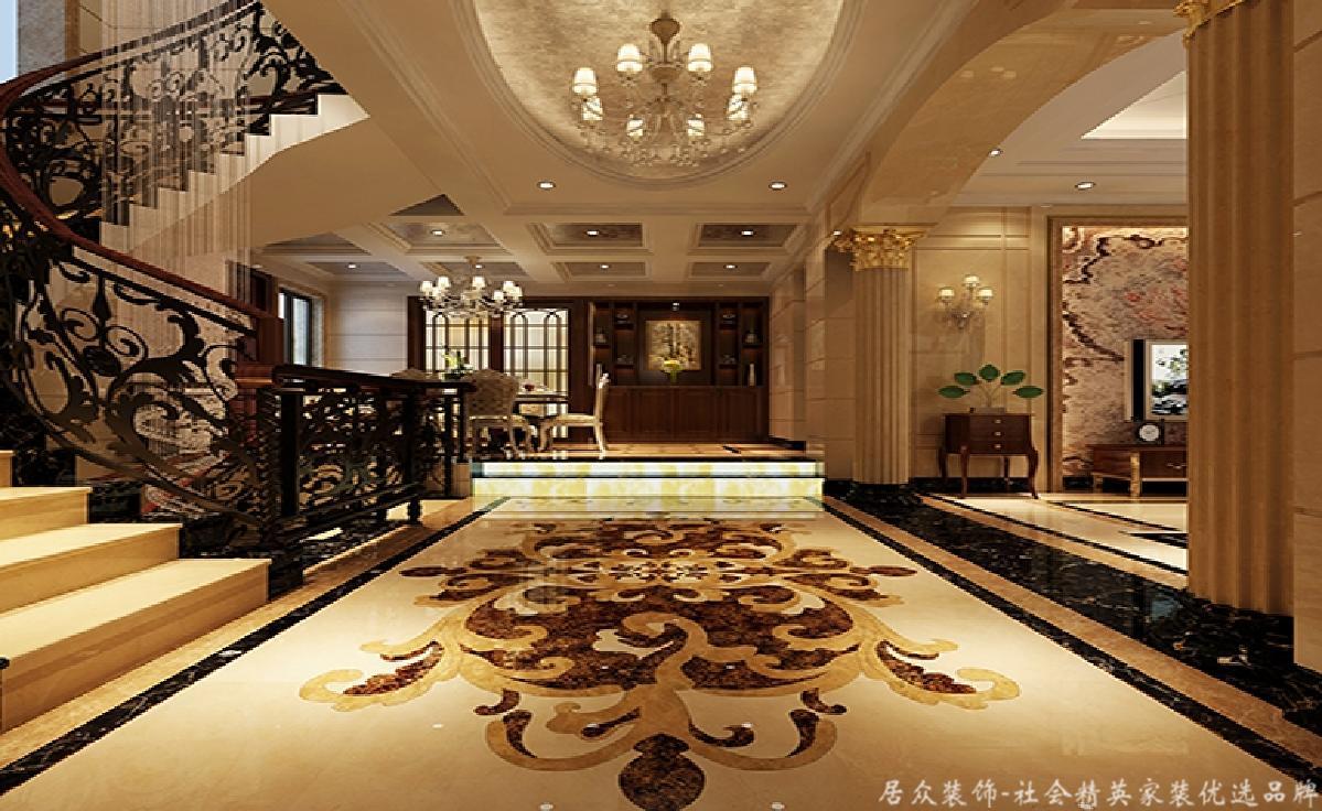 北欧 别墅 华贵 典雅 其他图片来自居众装饰长沙分公司在湘江豪庭-北欧风格-300㎡的分享