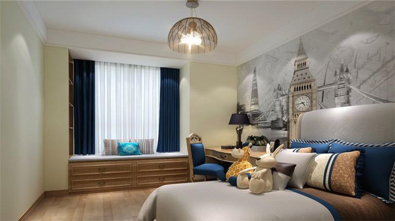 三居 白领 收纳 80后 小资 卧室图片来自实创装饰完美家装在万盛北里140平简约时尚效果图的分享
