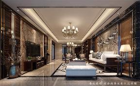 中式 舒适 高贵 客厅图片来自深圳居众装饰集团在高贵府邸城市山林-220平的分享