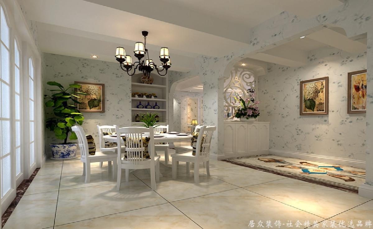 田园 旧房改造 三居 餐厅图片来自gz居众装饰在万科四季花城的分享