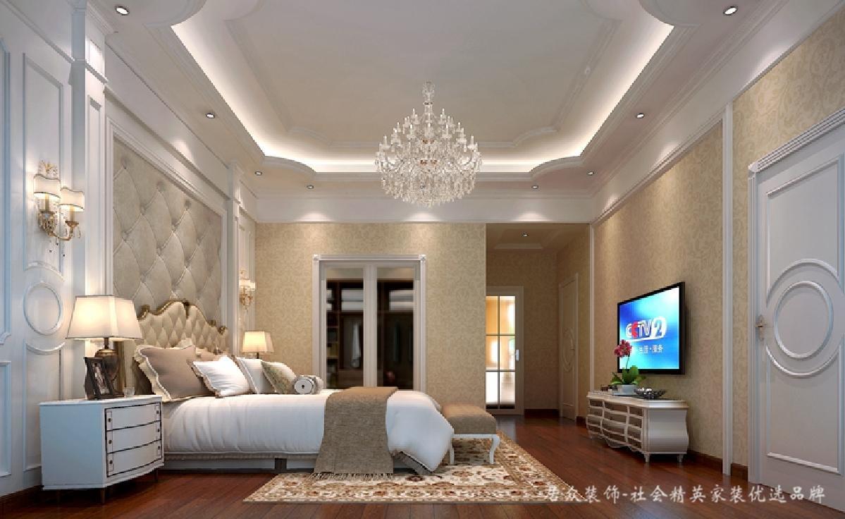 别墅 卧室图片来自深圳居众装饰集团在心境山水郡-北欧风格-480平米的分享