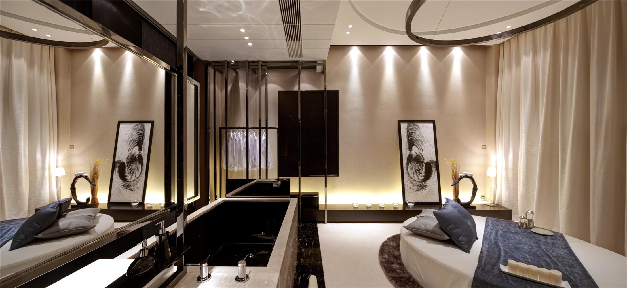 别墅 收纳 中式 卧室图片来自张勇高级室内设计师在泰禾北京院子中式设计案例的分享
