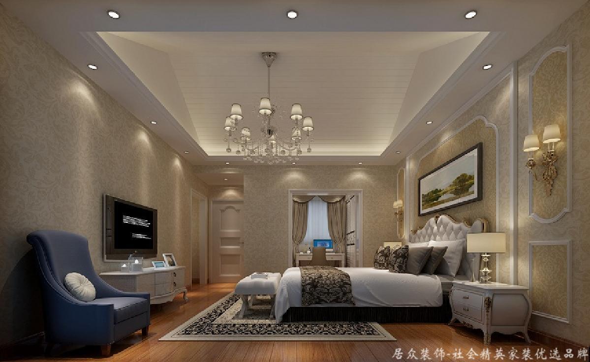 北欧 二居 淡雅 卧室图片来自居众装饰长沙分公司在旭辉御府-北欧风格-96㎡的分享
