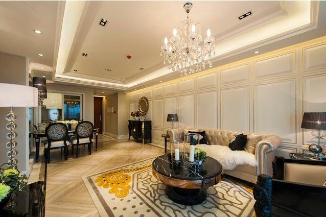 三居 客厅 卧室 欧式 厨房 餐厅 白领图片来自峰光无限曹战国在大兴九臻118㎡新古典装修案例的分享