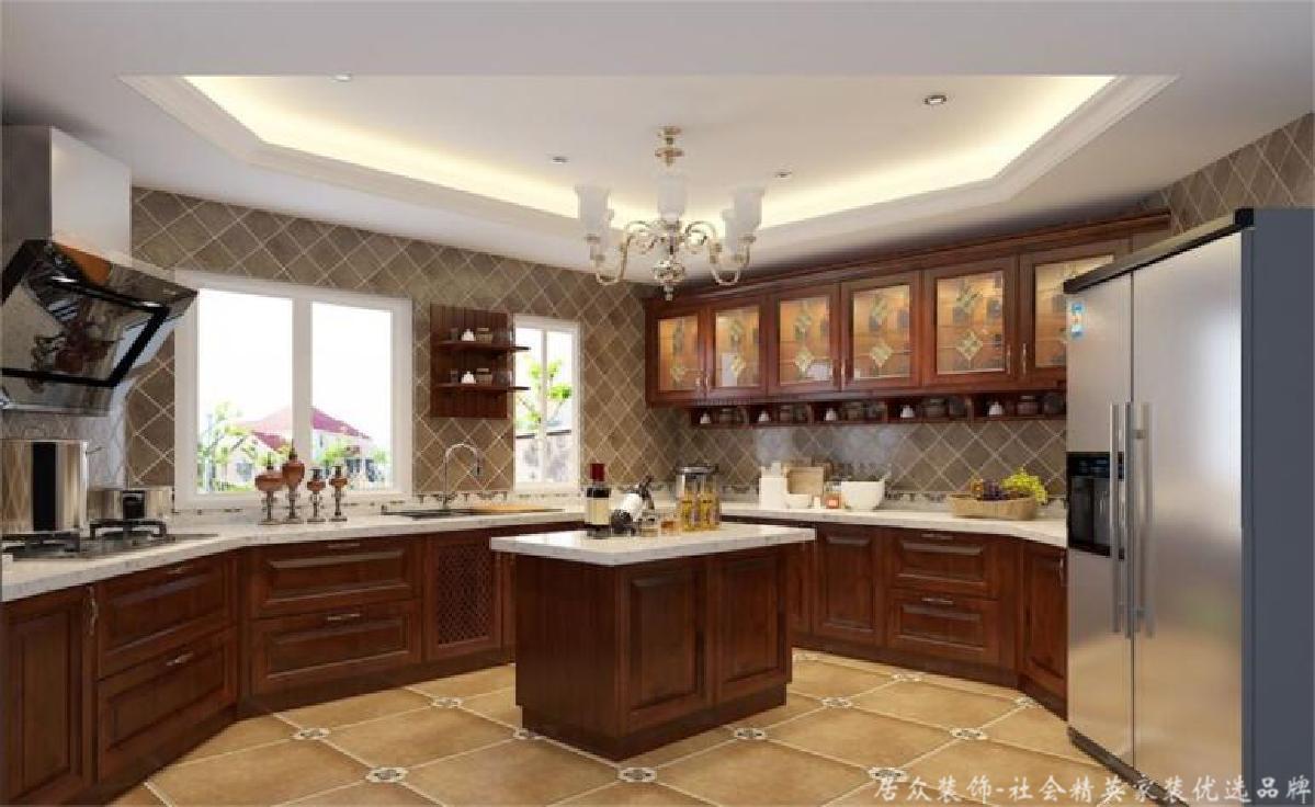 毛坯 欧式中式 四居 厨房图片来自gqx9211300在现实中的梦想空间-180平四居的分享