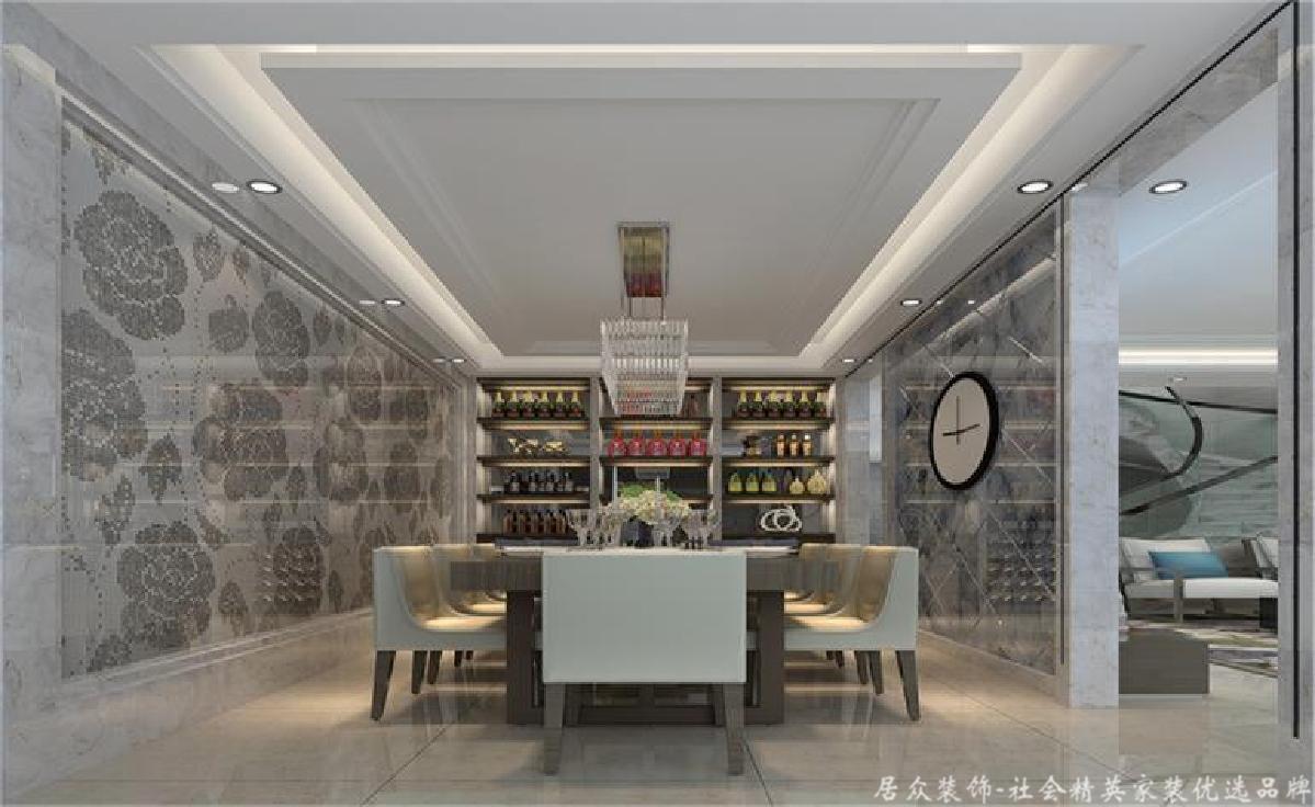 """四居 现代简约 毛坯 餐厅图片来自gz居众装饰在家住""""剑桥""""的分享"""