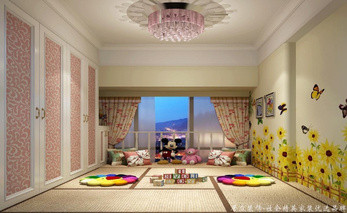 """三居 欧式 儿童房图片来自gz居众装饰在亲近""""自然""""的分享"""