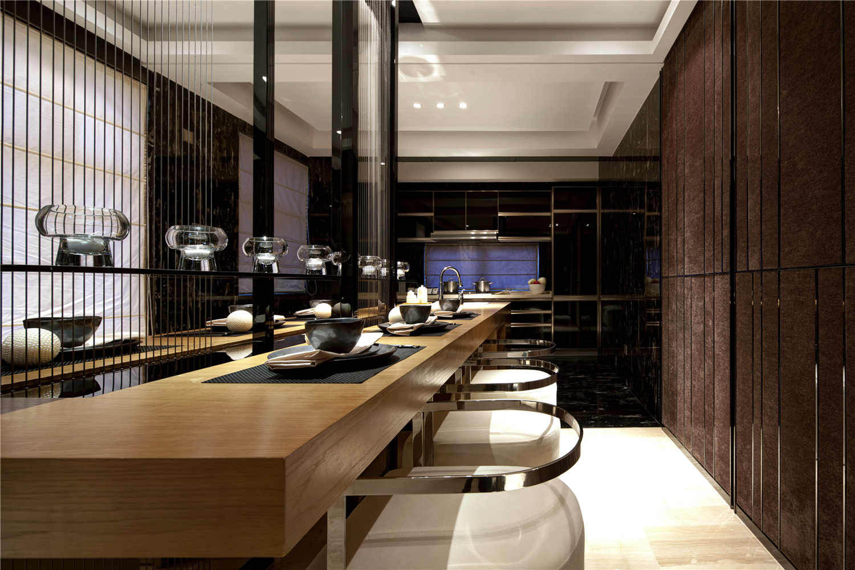 别墅 收纳 中式 卫生间图片来自张勇高级室内设计师在泰禾北京院子中式设计案例的分享