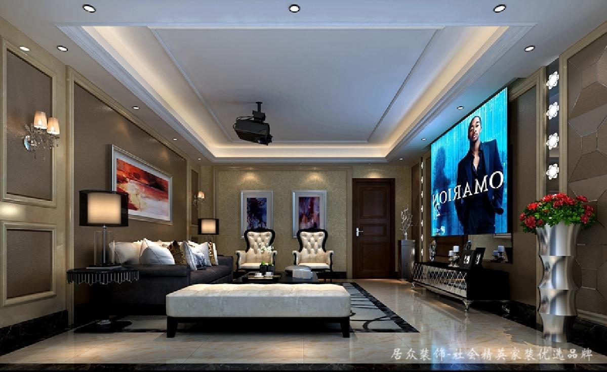 别墅 客厅图片来自深圳居众装饰集团在心境山水郡-北欧风格-480平米的分享