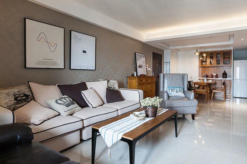 三居 混搭 小资 客厅图片来自广州泥巴公社装饰在混搭风格.粤海丽江花园的分享