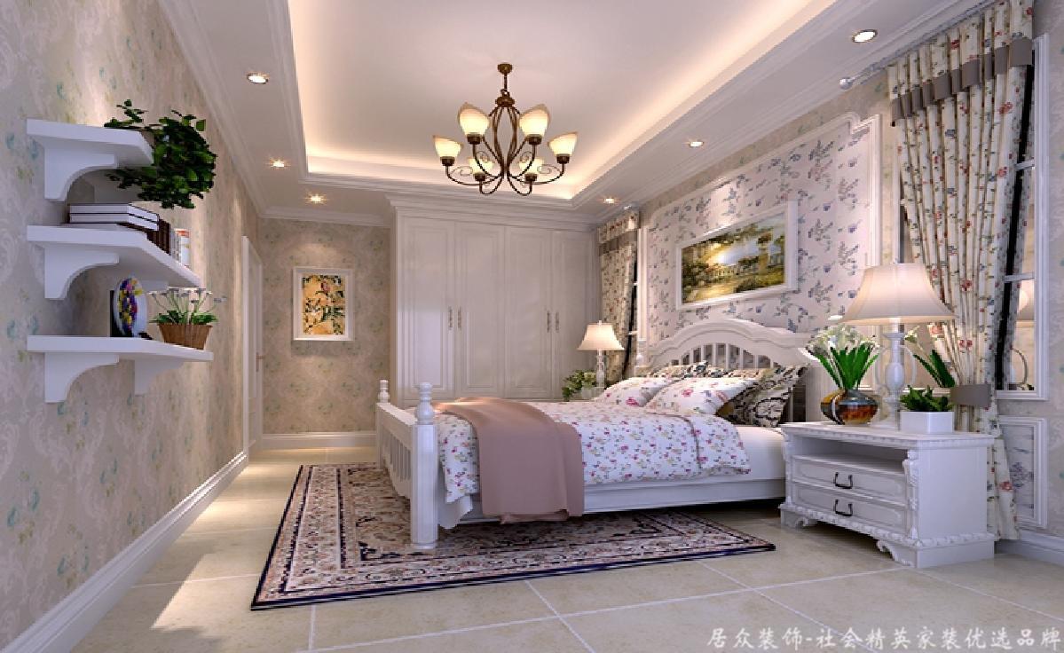 田园 旧房改造 三居 卧室图片来自gz居众装饰在万科四季花城的分享