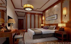 """中式 古典 舒适 跃层 卧室图片来自gqx9211300在""""古典""""中式风格跃层的分享"""
