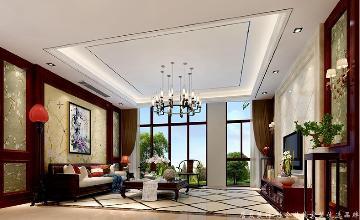 360平中式风格别墅