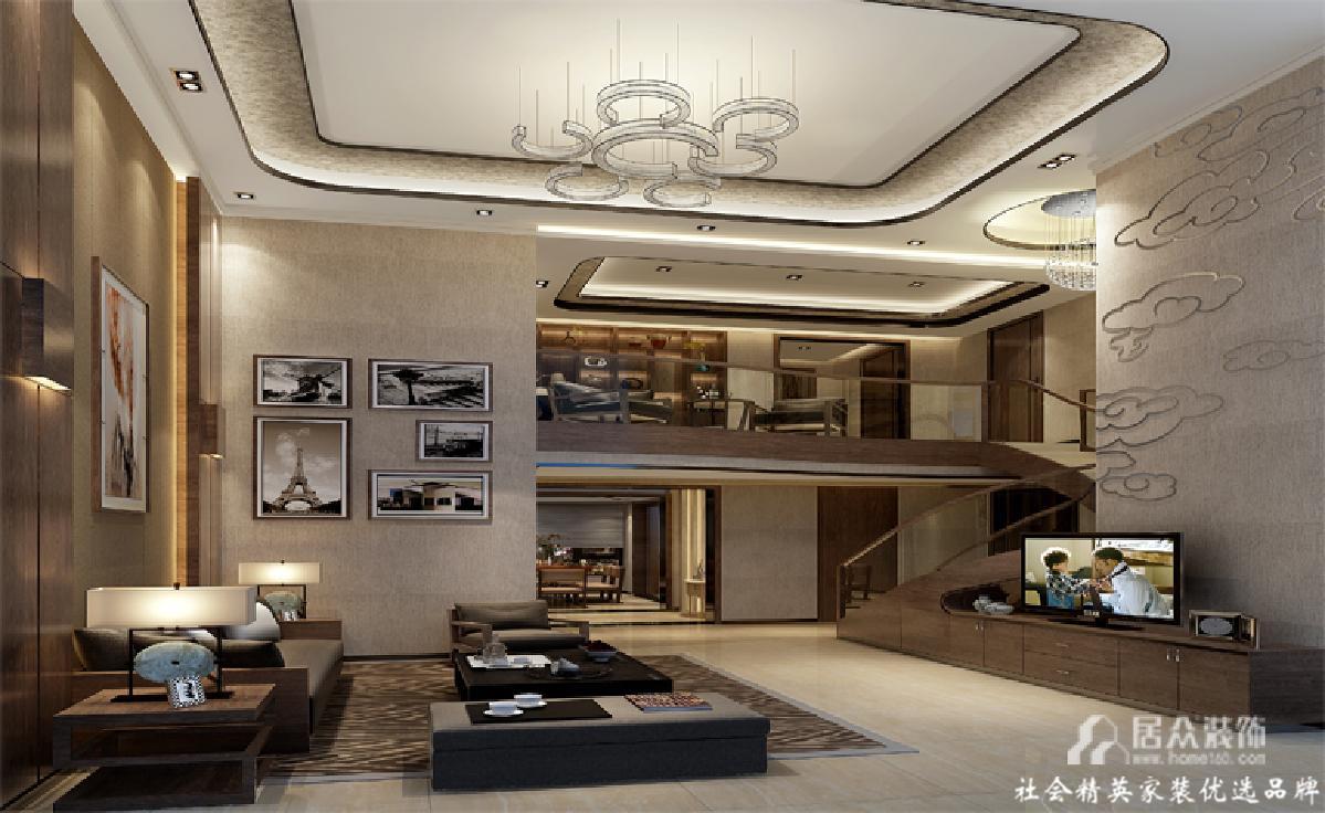 现代简约 毛坯 复式 客厅图片来自gqx9211300在素雅宁静的走心小窝的分享