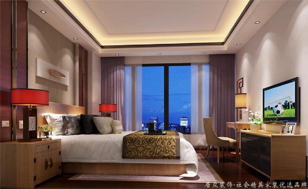 毛坯 欧式中式 四居 卧室图片来自gqx9211300在现实中的梦想空间-180平四居的分享