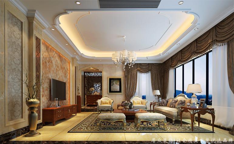 客厅图片来自重庆居众装饰在居众装饰-富悦麓山别苑的分享