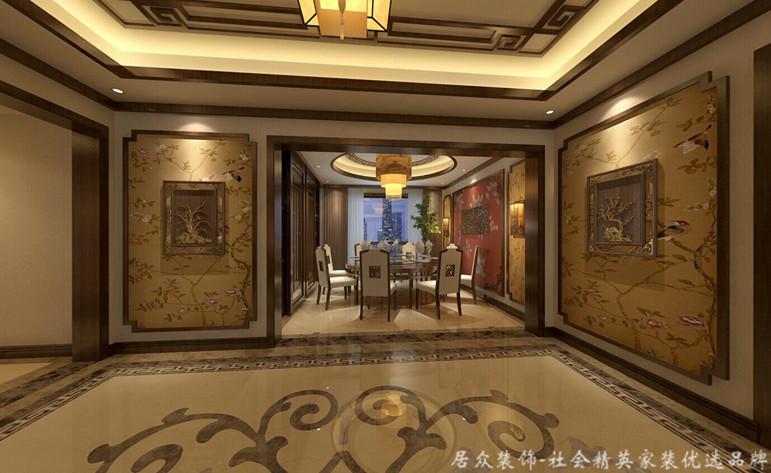 五居 中式 平层 餐厅图片来自gqx9211300在恒大华府-中式五居平层的分享