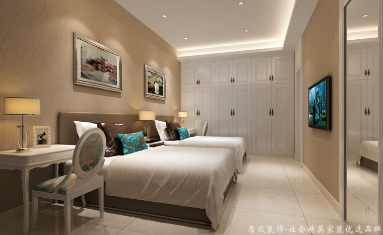 卧室图片来自重庆居众装饰在居众装饰-富悦麓山别苑的分享