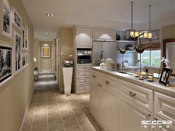 亚星星苑123平混搭风格装修设计-厨房