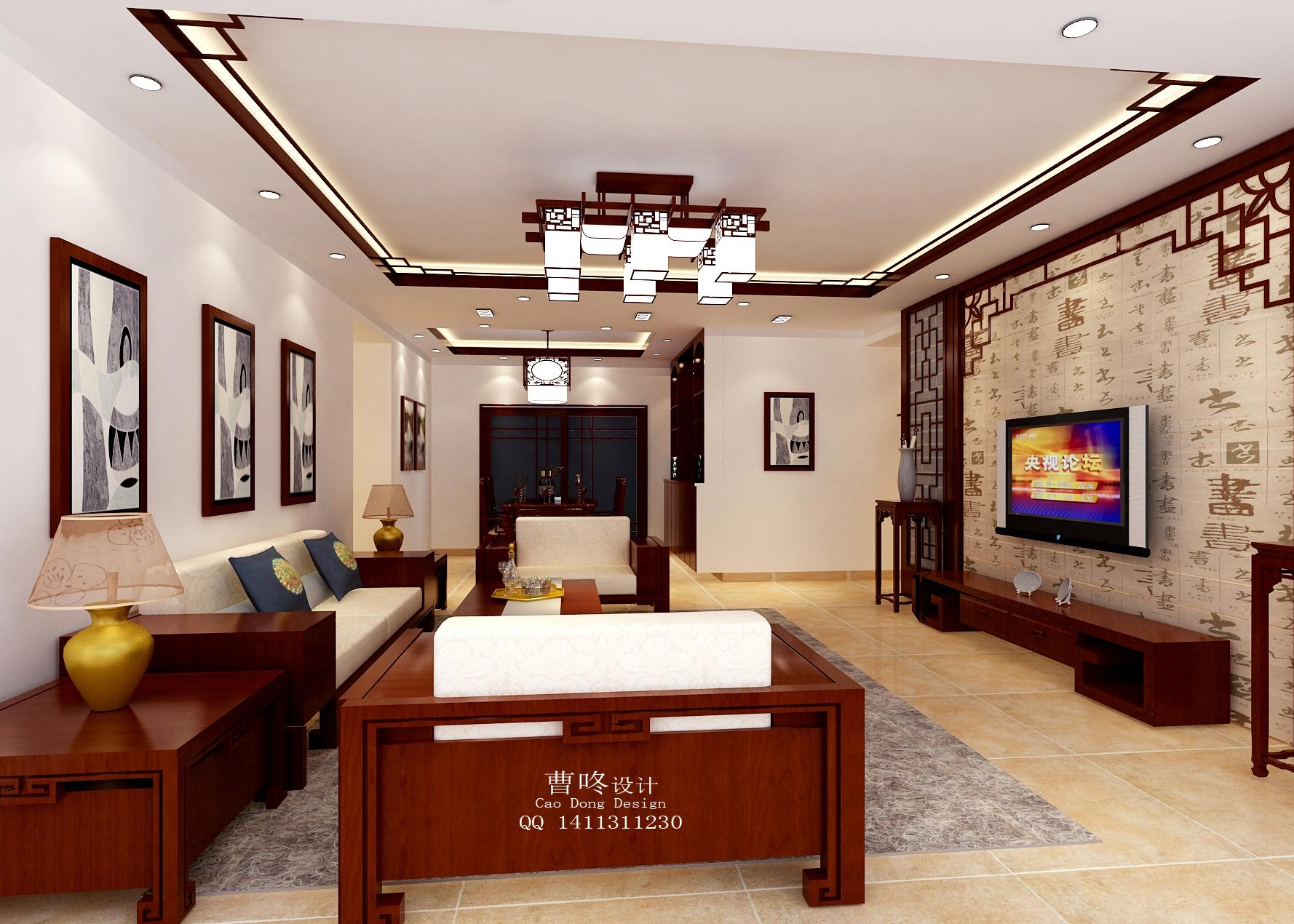 中国风 韵味 客厅图片来自曹咚在《中国风》曹咚的分享
