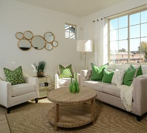 生活绿色别墅-精致轻奢简约设计