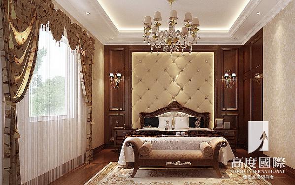 南湖国际-280平方米-欧式-二楼卧室
