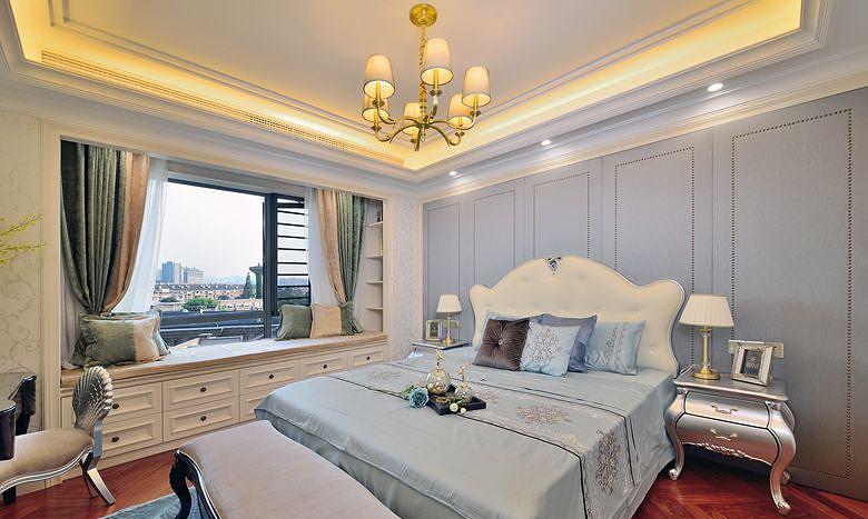 卧室图片来自家装大管家在高雅的人生 163平法式新古典3居的分享